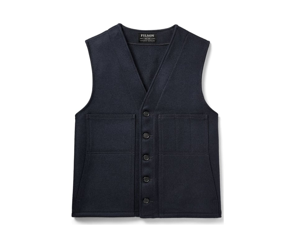 Men's Mackinaw Wool Vest - Alaska Fit