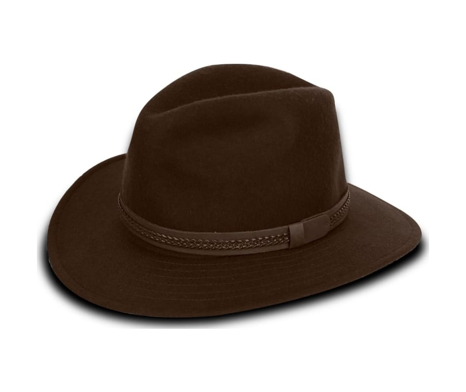 Tilley Twf1 Fedora - Dark Brown - 73 8 60efdb0a5eb4