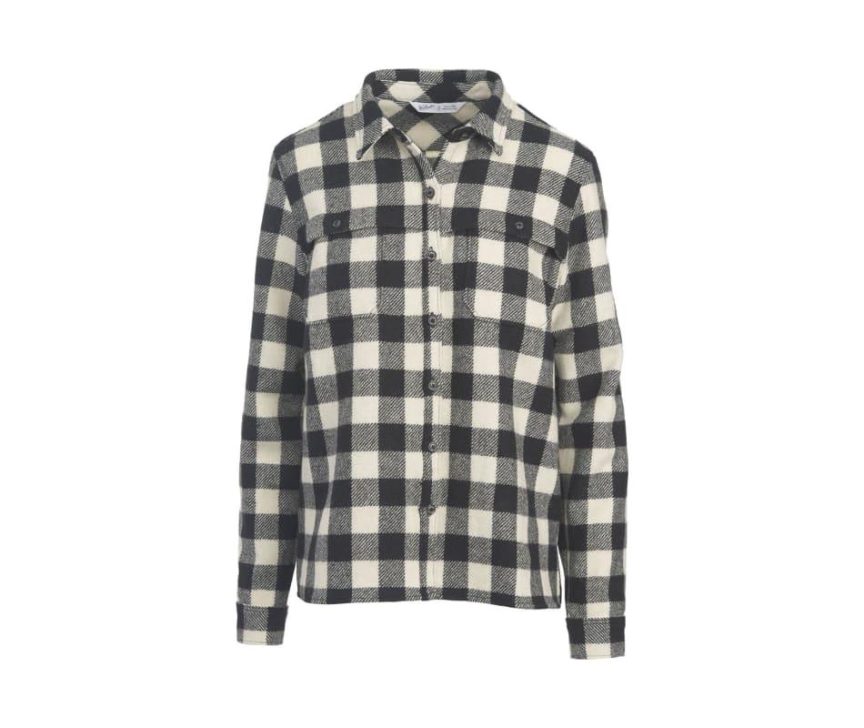Women's Wool Buffalo Stag Shirt Jac