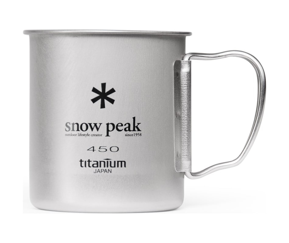 Titanium Single Wall Cup