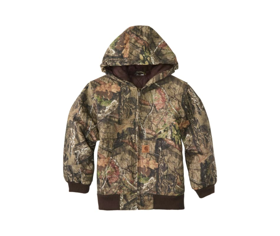 Boy's Mossy Oak Camo Jacket
