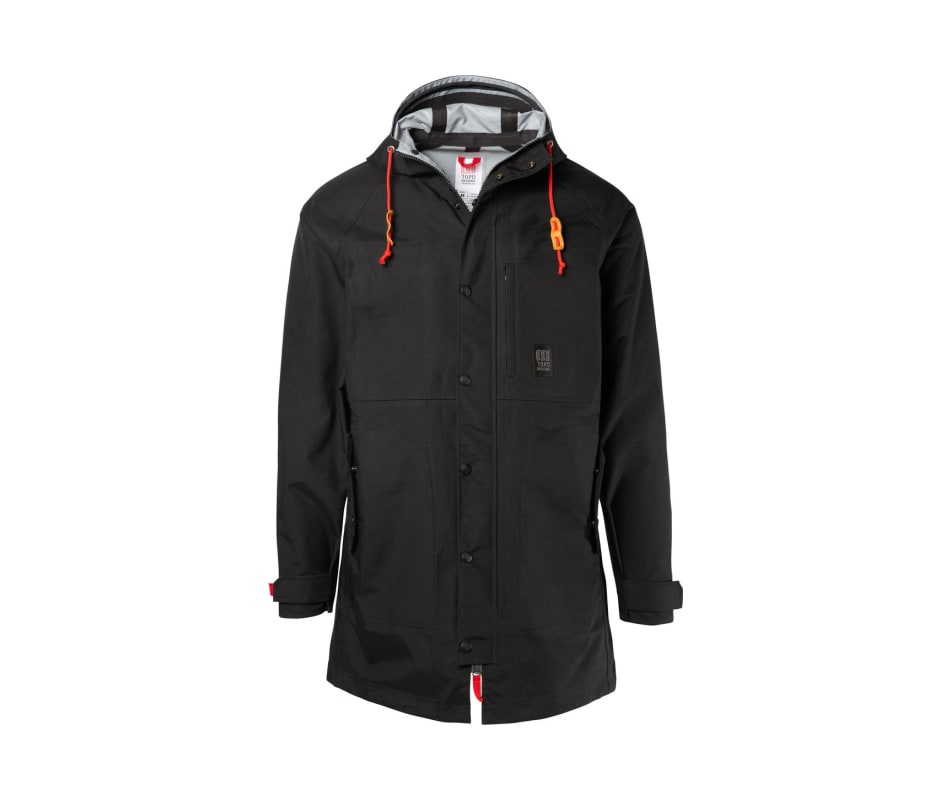 Men's Rain Coat - Black - XL