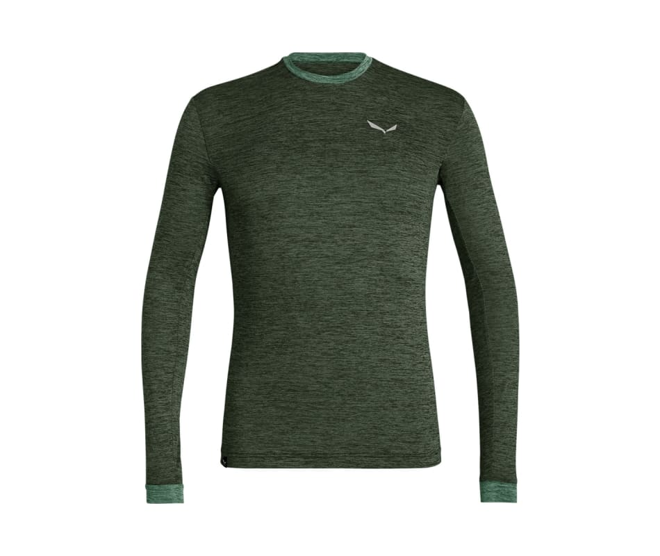 Men's Puez Melange Dry Long Sleeve Tee