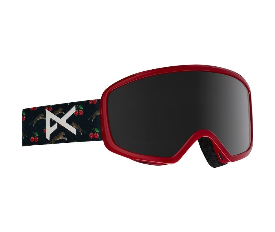 Women's Deringer Goggles - Black Cherries/Dark Smoke