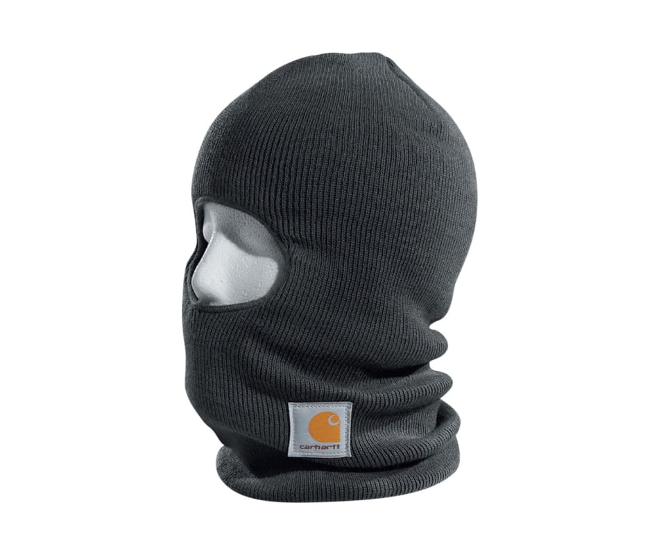 1bdff965ec2fb Carhartt A161 Face Mask Charcoal Heather - One Size