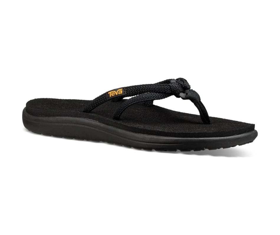 98424eea0 Teva Womens Voya Tri-Flip Sandal - Black - 10