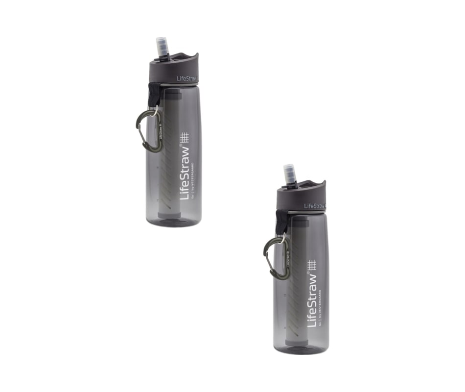 Go with 2-Stage Filtration - Grey - 2 Pack