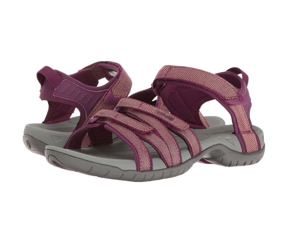 479679234f95 Teva Women s Tirra Sandal Zaca Dark Purple Gold - 7.5