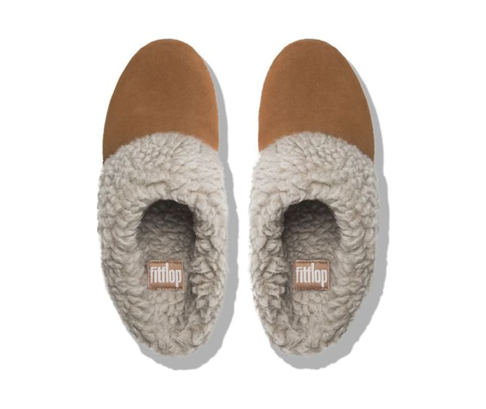 9f28ee982359 FitFlop Women s Loaff Snug Slippers Chestnut - 9