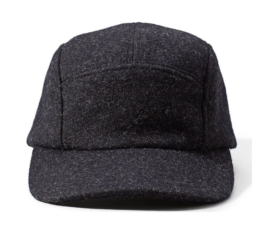 Filson 5-Panel Wool Cap Charcoal - One Size 203db95765a