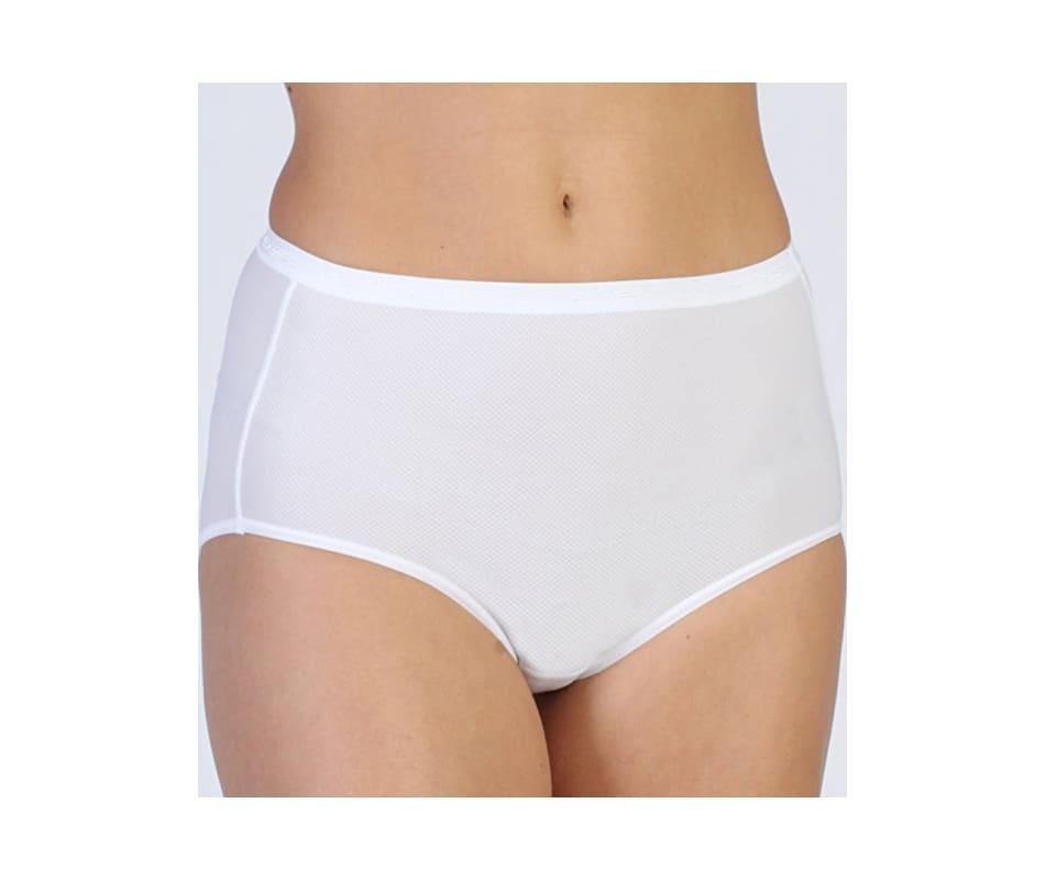 1e4b412f43fa Exofficio Women's Give n Go Full Cut Brief White - Medium