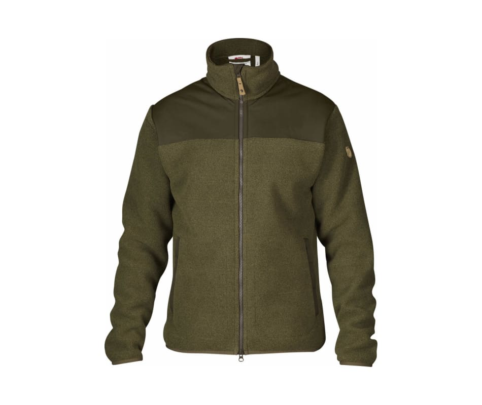 Tarmac Large Fjallraven Mens Forest Fleece Jacket