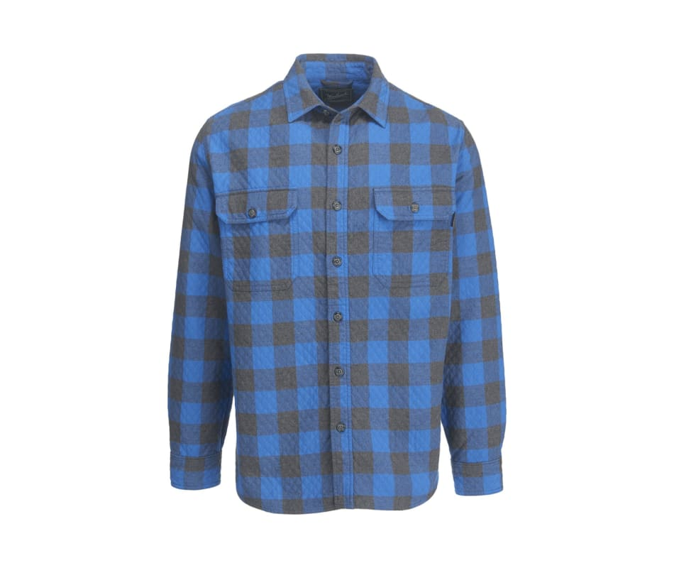 Men's Old Valley Double Cloth Plaid Over Shirt