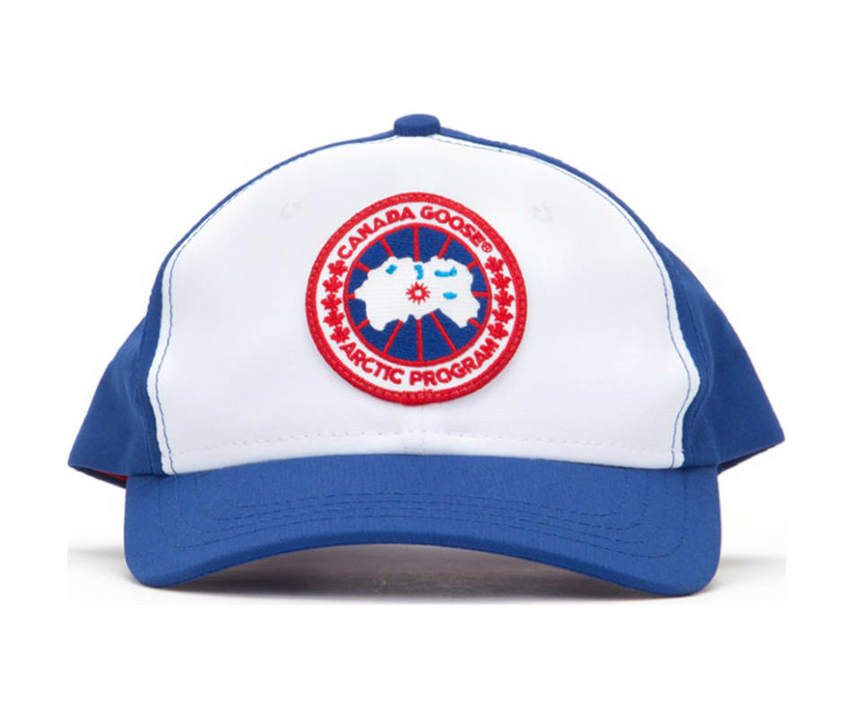 Canada Goose Ball Cap Adjustable Pacific Blue   White - One Size ac59a14ce2b
