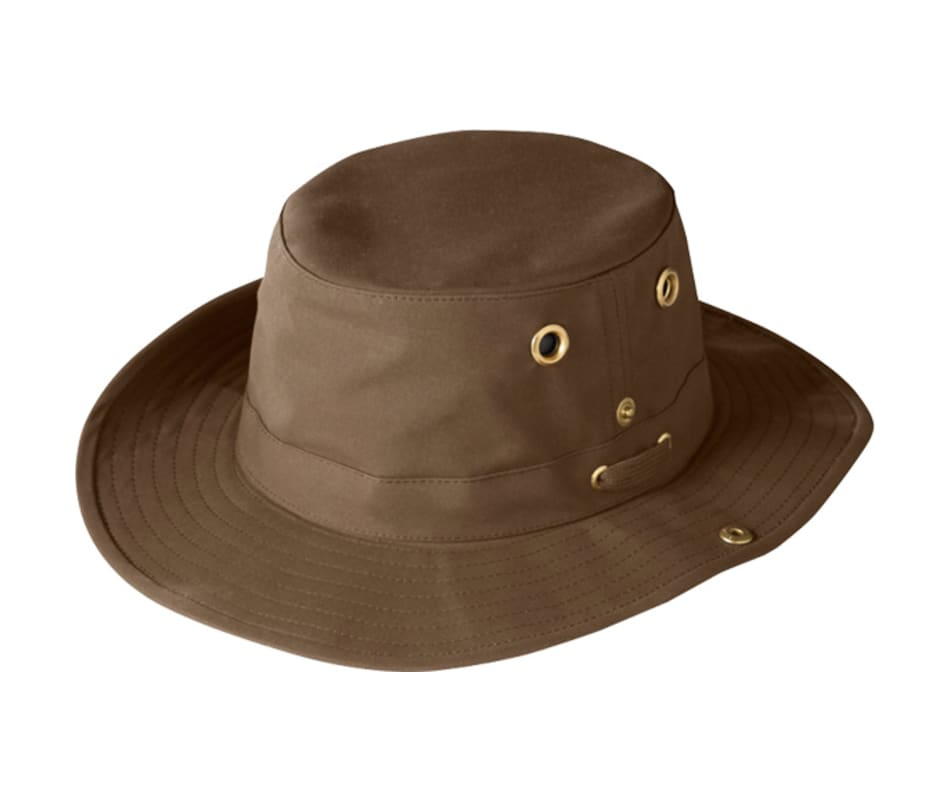 Tilley TWC3 Outback Snap-up Hat - British Tan - 7 3 4 a8e6f4134d3e
