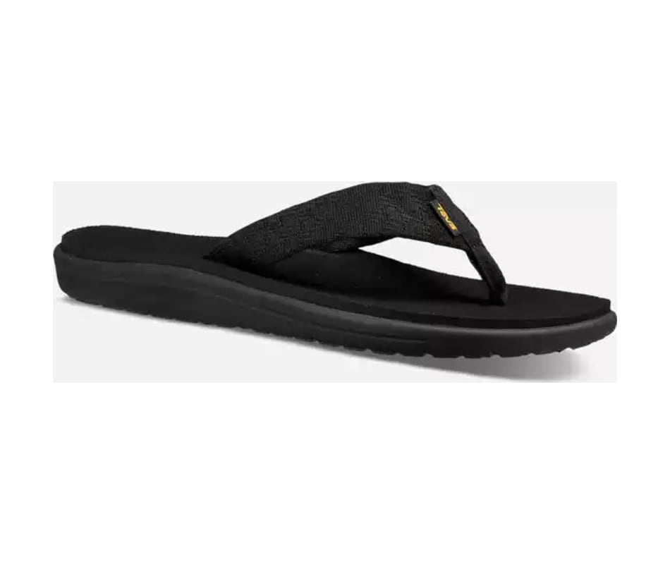 3eda53534fea1 Teva Men s Voya Flip - Brick Black - 10