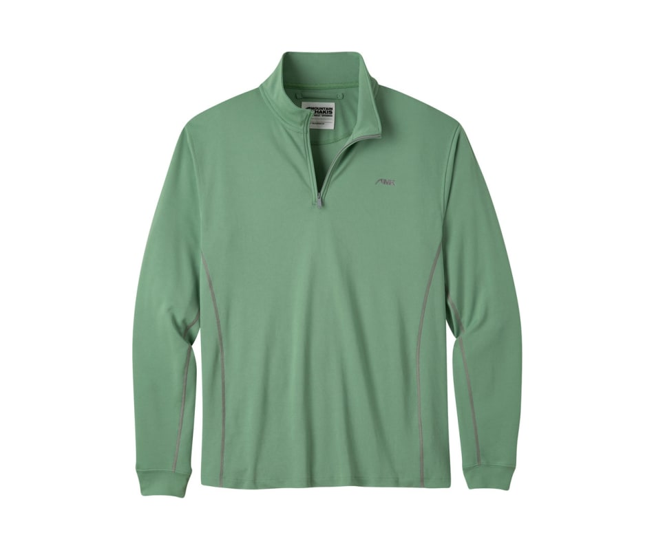 Men's Shady Cay II Qtr Zip Long Sleeve Shirt