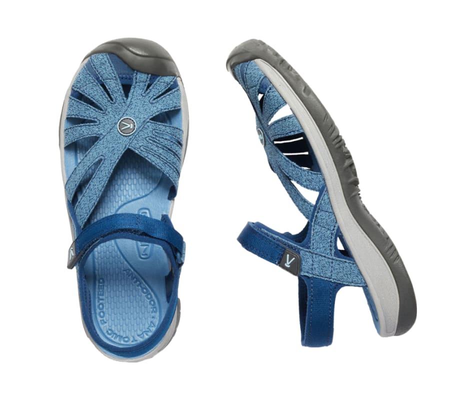 749384a5a818 Keen Women s Rose Sandal - Blue Opal Provincial Blue - 8