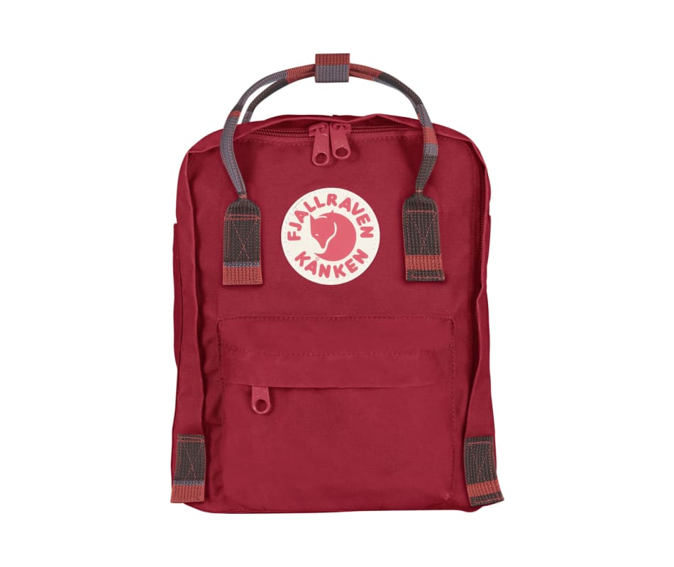 3da0520317 Fjallraven Kanken Mini - Deep Red-Random Blocked