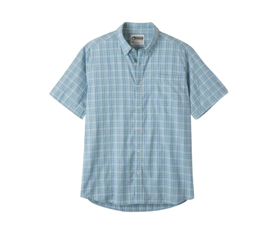 Men's Spalding Gingham SS Shirt