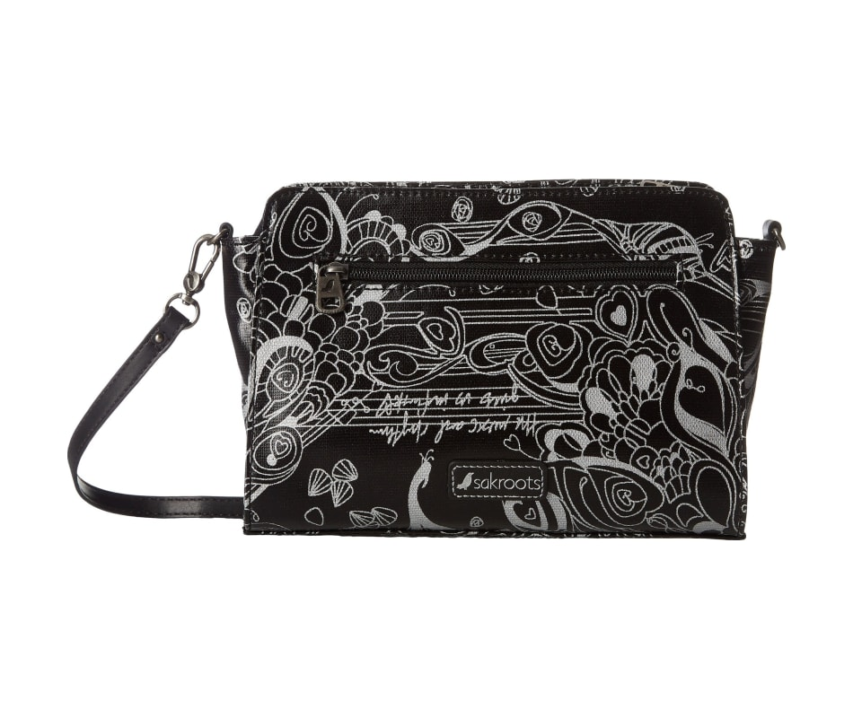Sakroots Women's Small Charging Crossbody