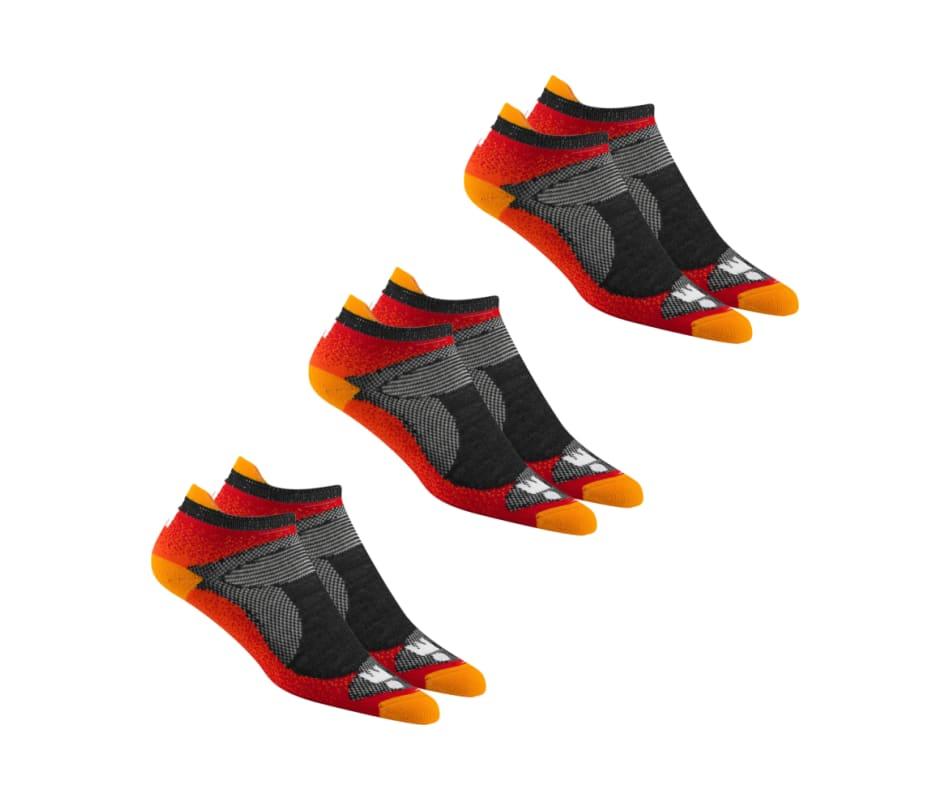 787e5b40bcf0 Wigwam Ironman Flash Pro Socks - 3 Pack Flame Orange - LG