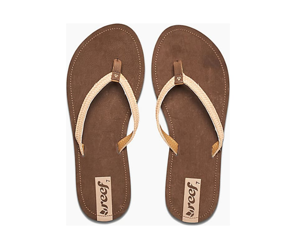 985d71ff4135c Reef Sandals Women s Downtown Truss - Brown - 6