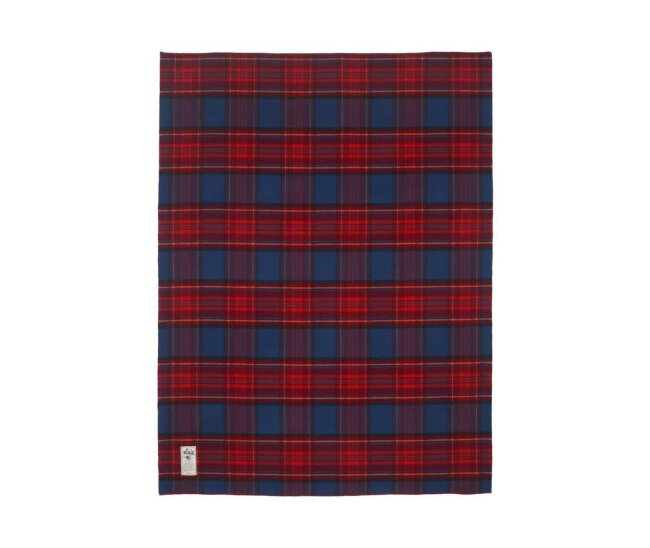 Seven Springs 100% Soft Wool Blanket (56