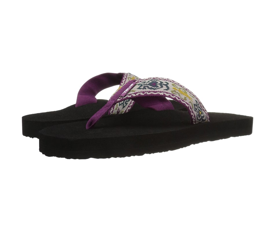 d59cd611b633 Teva Women s Mush II Flip Flop Amalia Dark Purple - 9
