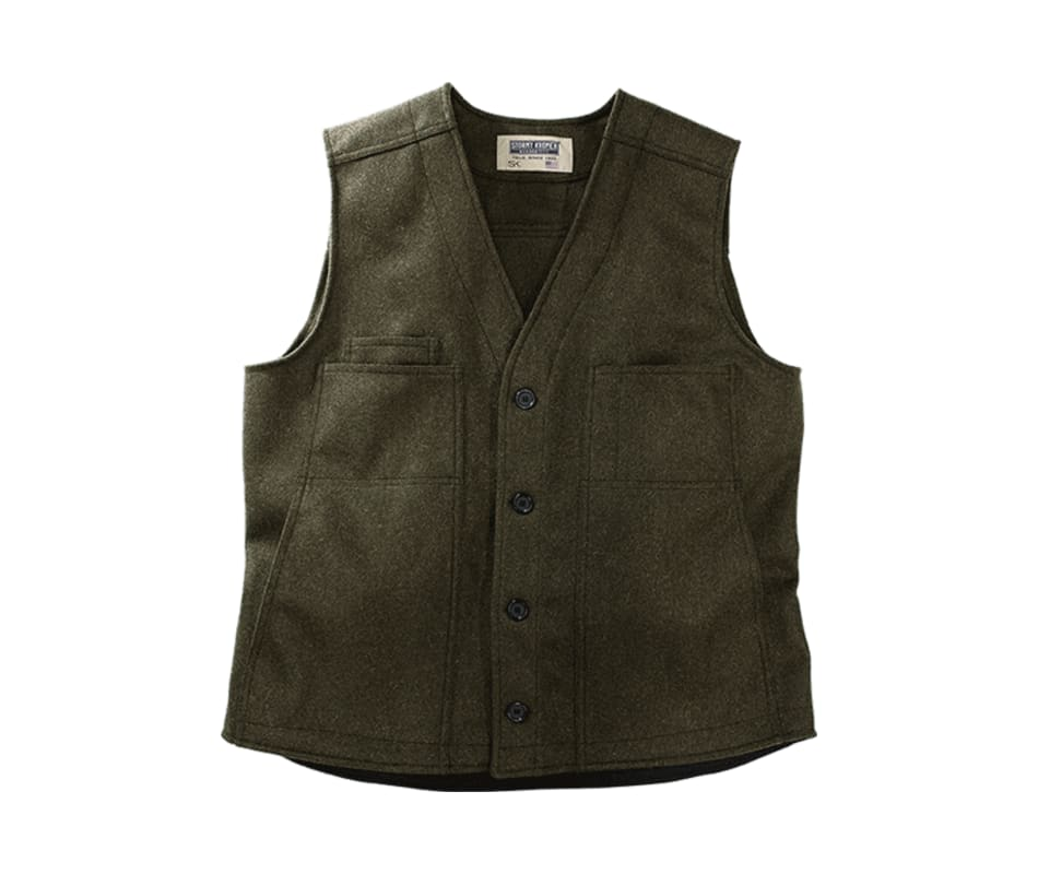 Stormy Kromer Men's The Button Vest