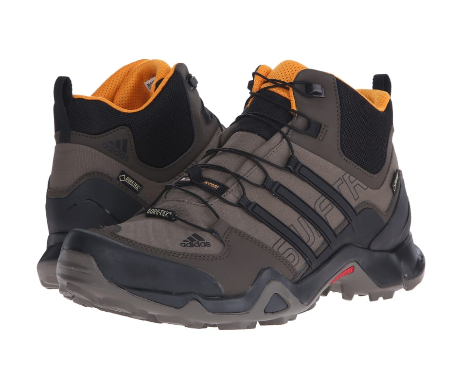 6780fe751 Adidas Outdoor Terrex Swift R Mid Gtx Branch Black Umber - 10