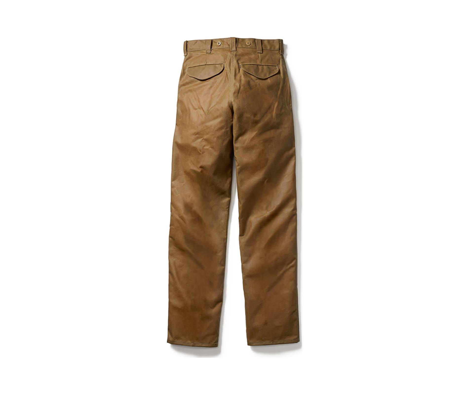 Filson oil finish single tin pants