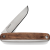 Stainless Sandvik12C7 Str Blade / Walnut Handle