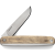 Stainless Sandvik12C7 Str Blade / White Oak Handle