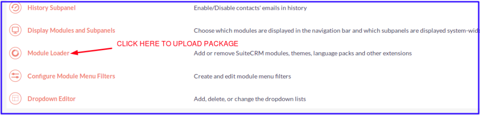 SugarCRM & SuiteCRM Backup-Restore Manager Module Loader