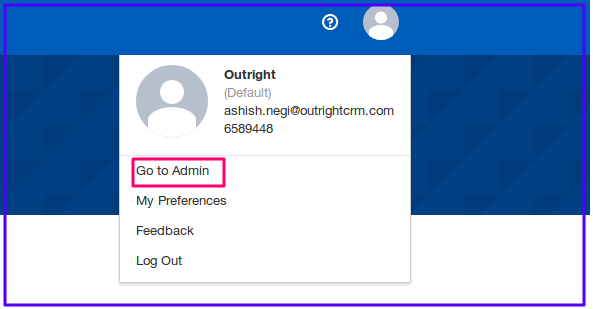 DocuSign Connector Go To Admin