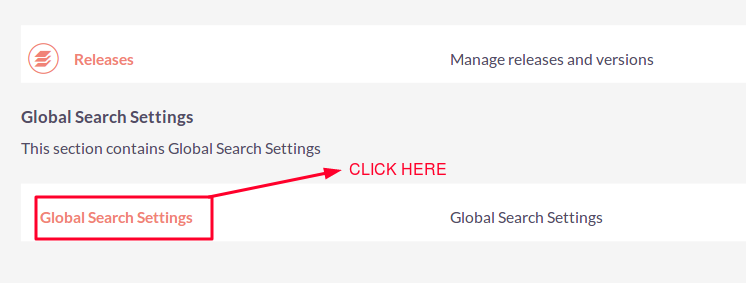 Faster Global Search for SuiteCRM Settings