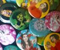 Locques La Roux Badges x 1 (Choose which one on the night)