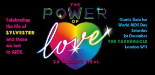 The Power Of Love: Is Mighty Real! Charity Gala For The Terrence Higgins Trust