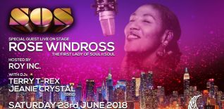 SOS-Soul on Saturday with Rose Windross Live