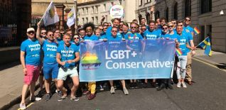LGBT+ Conservatives at Pride in London