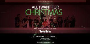 London Gay Big Band presents: All I Want For Christmas