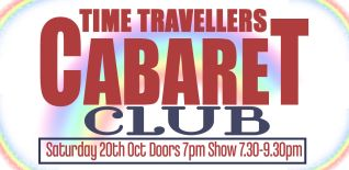 Time Travelers Cabaret Club at The Glory