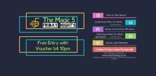 Magic 5 with DJ Robby Dee