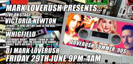 Loverush Summer 90's with Whigfield and Victoria Newton LIVE
