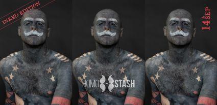 HOMOSTASH - Inked edition - Headliner: Vesnu (Slovakia)