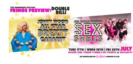 Jonny Woo and The Sex Shells Double Bill