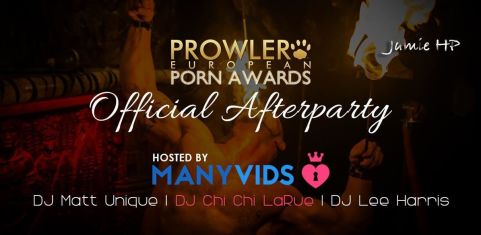 The Prowler European Porn Awards Official After Party!