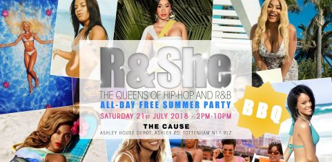R & She: All Day Free Summer Party!