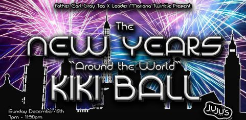 "Father Earl Gray Tea x Leader Mariana Twinkle ""New Year around the world"" Kiki Ball"